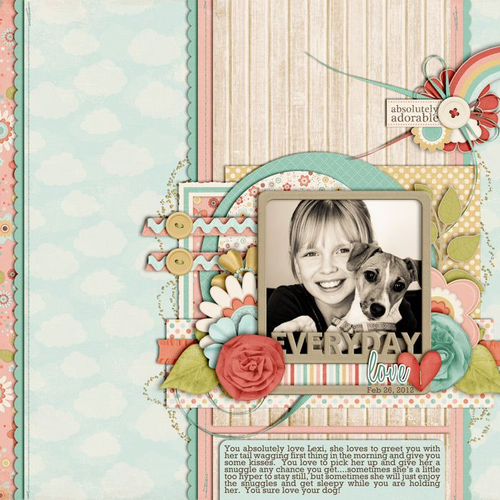 Love this gorgeous page by Cindy!