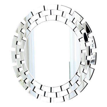 Winzlee Round Venetian Wall Mirror 35 5w X 35 5h In