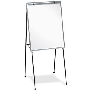 Lorell Dry Erase White Board Easel Worked Great For Pictionary Night Dry Erase Board Easel Dry Erase Board Black Dry Erase Board