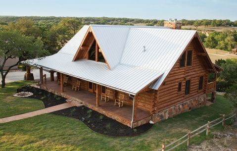 AP: Galvalume Plus_1 | Barn Homes | Pinterest | Metal Roof, Cabin And Barn