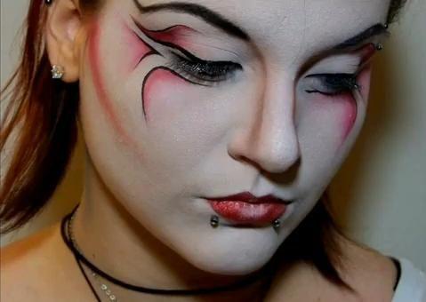 diabla sexy maquillaje