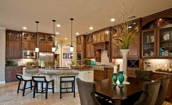 Gorgeous kitchen from Village Builders in Texas!