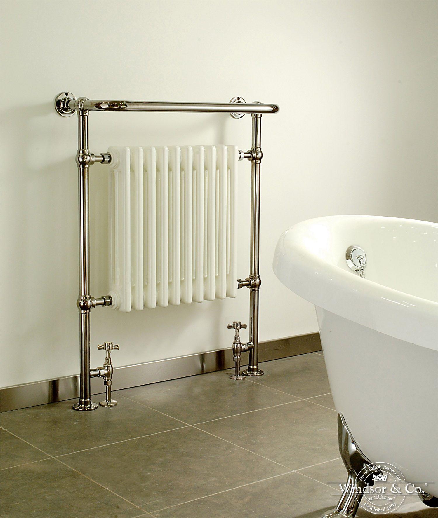 Windsor handdoek radiator Regency   Badkamer   Pinterest   Radiators ...