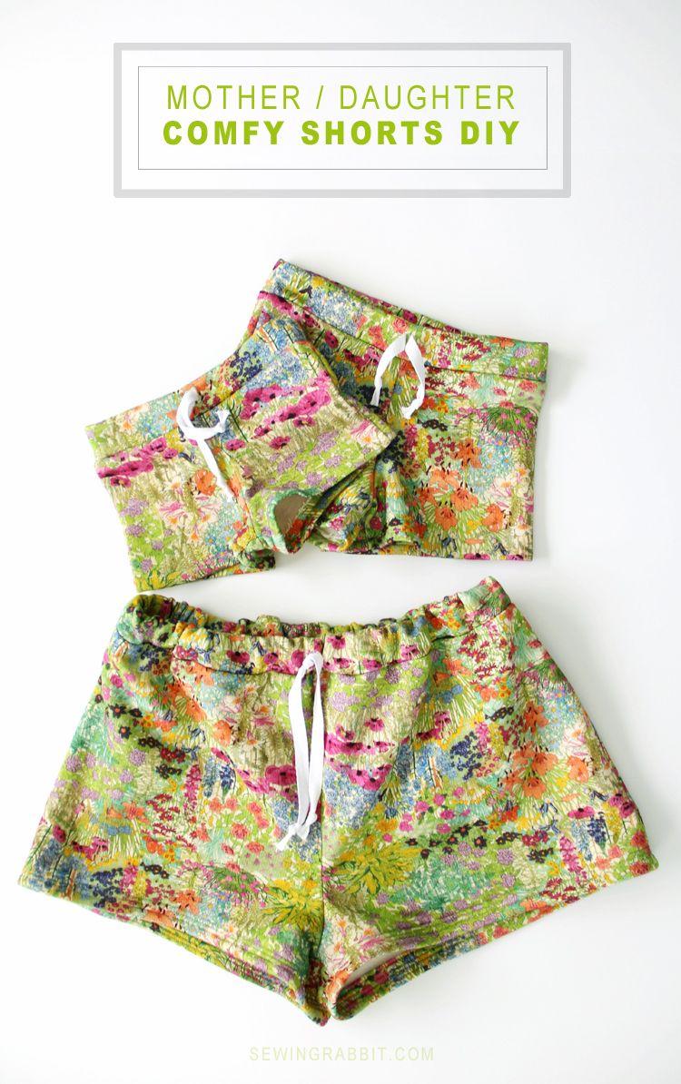 Mother Daughter Shorts | Mutter kind, Partnerlook und Shorts