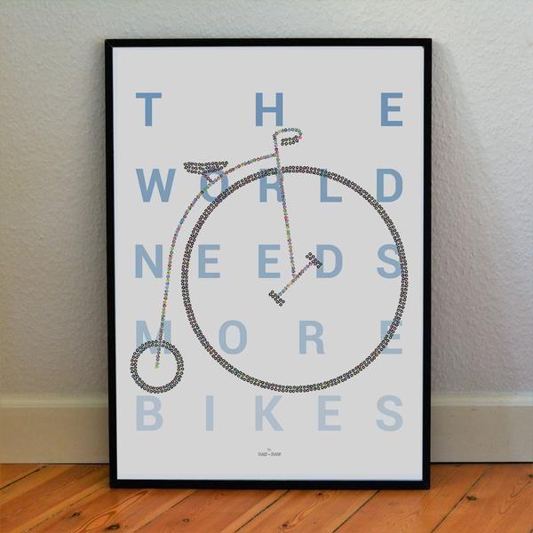 Tiny Bikes Make Big Bike - Penny-Farthing