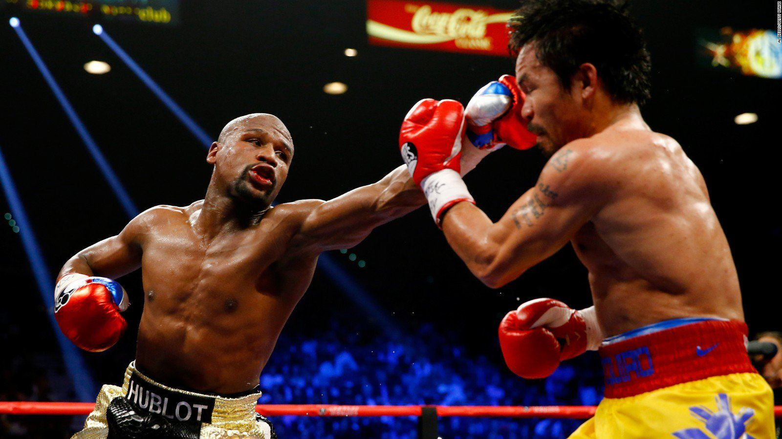 Floyd Mayweather Jr Vs Manny Pacquiao Rematch Confirmed By Maywather Sr Manny Pacquiao Floyd Mayweather Floyd Mayweather Fight