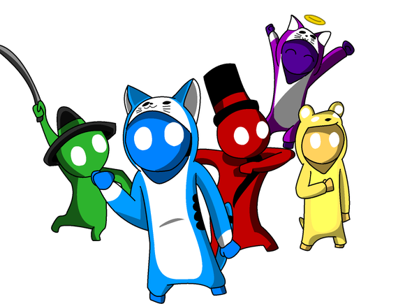 Gang Beasts Gang Beasts Beast Disney Characters