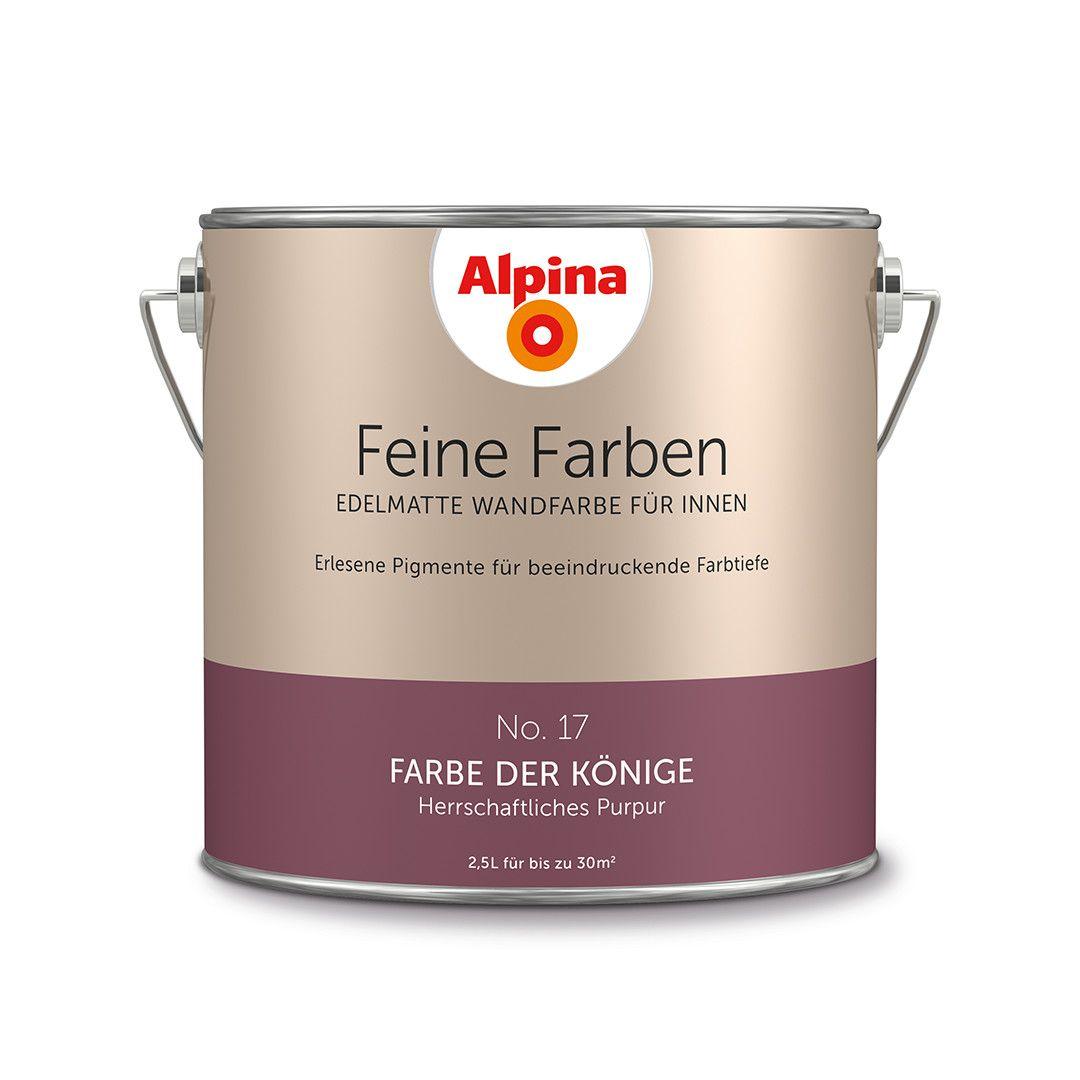 alpina feine farben no 17 farbe der k nige design diy farbe einrichten wohnen. Black Bedroom Furniture Sets. Home Design Ideas