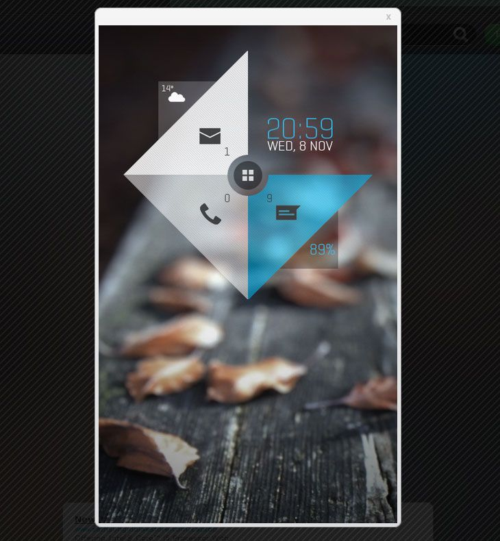Wonderful The Web Aesthetic U2014 Showcasing The Best In Web Design Designer: Mohamed  Shihab Android Homescreen UI. Love The Geometry 8 Poster