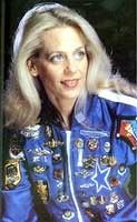 Suzanne Mitchell in her famous military pin jacket.  Now hanging in honor at DCC Headquarters.