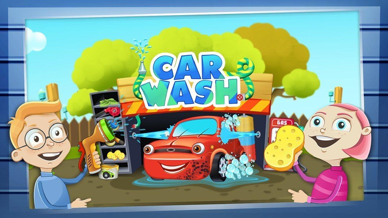 Kids Car Wash Salon Game Dream Cars Factory Car Service Learning Ca Kid Car Wash Car Wash Car Games