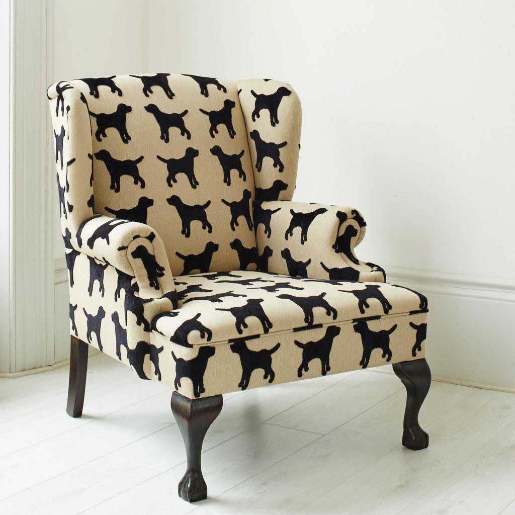 Eaton labrador wing chair the labrador co leather