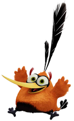 Bubbles From The Angry Birds Movie Angry Bird Pictures Angry Birds Characters Cartoon Birds