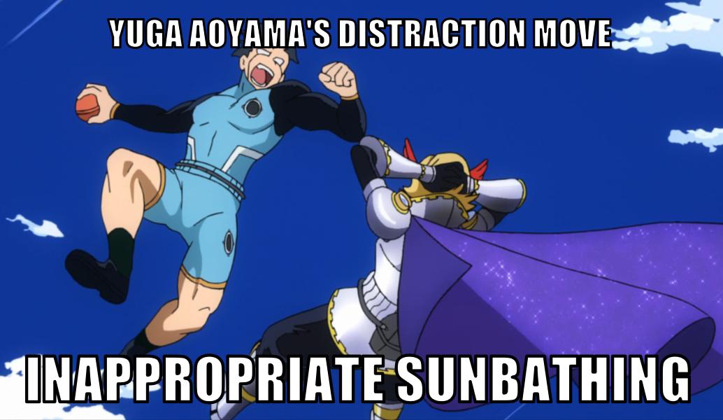 Yuga Aoyama Special Move My Hero Academia Memes My Hero