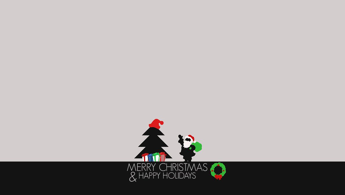 Merry Christmas And Happy Holidays Wallpaper
