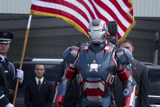 Iron Man 3 - Patriot Armour #IronMan #Movies #Entertainment