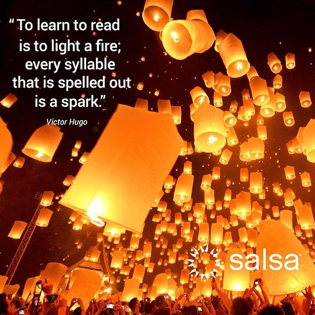 To learn to read is to light a fire; every syllable that is spelled out is a spark.  -Victor Huge #LiteracyDay.   & To learn to read is to light a fire; every syllable that is spelled ...