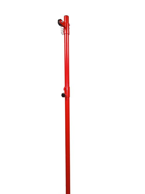Dg33 Tri Sport Pole For Recreation Badminton Mini Volleyball Pickleball Perfect For Physical Education P Volleyball Net Volleyball Volleyball Equipment