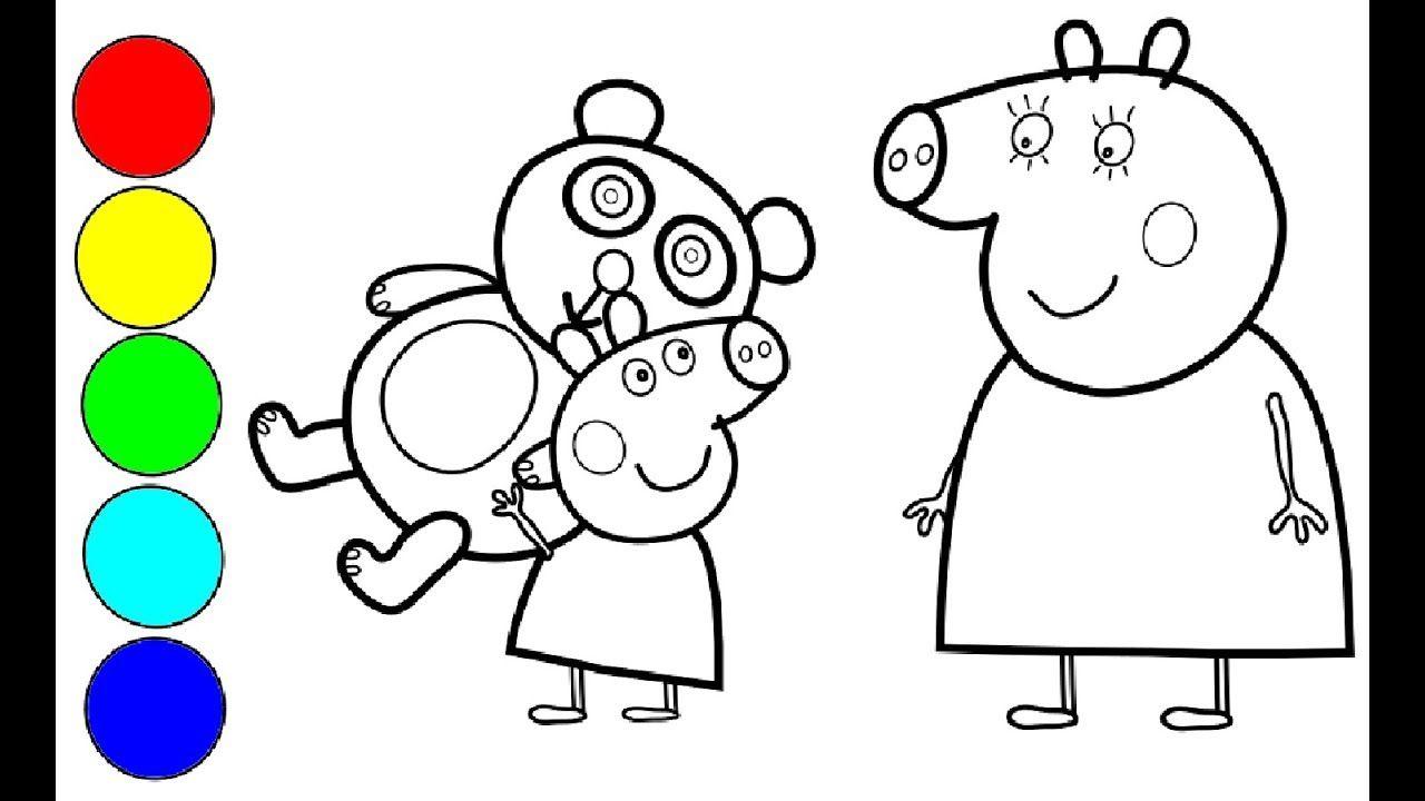Peppa Wutz Zeichnen Und Ausmalen Familie Wutz Kaffee Zeit Peppa Wutz Kaffee Youtube Make It Yourself