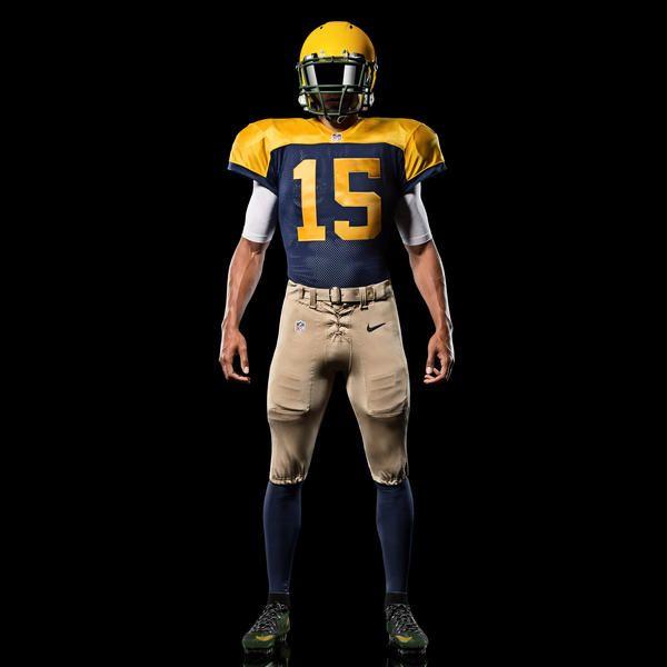 2487897bebf Green Bay Packers Go Old School With New Nike Alternate Uniform ...