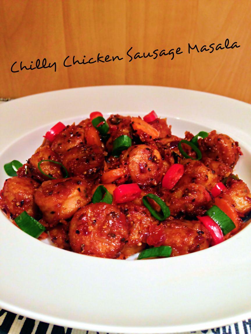 Recipe – CHILLY CHICKEN SAUSAGE MASALA (Nepali style) | to