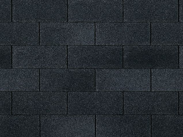 Best Onyx Black Owens Corning Supreme® Three Tab Shingles 400 x 300