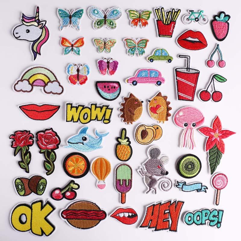 Pgy 1 Piezas De Dibujos Animados De Los Kiwis Parches Mouse Bordado De Parches Para Ropa Diy Helado Alimentos Pegatinas Aplique 9 And 10 10 Things Sugar Cookie