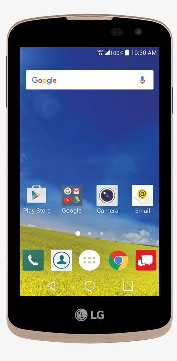 The LG K4 LTE smartphone available at Verizon features a user-friendly design, enhanced camera, and a 4.5