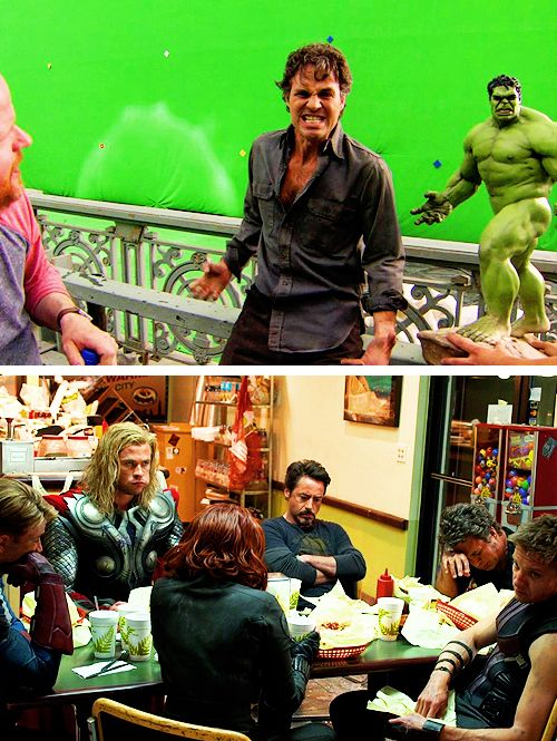 mamalaz:  The Avengers Behind the Scenes [ 1 | 2 ]