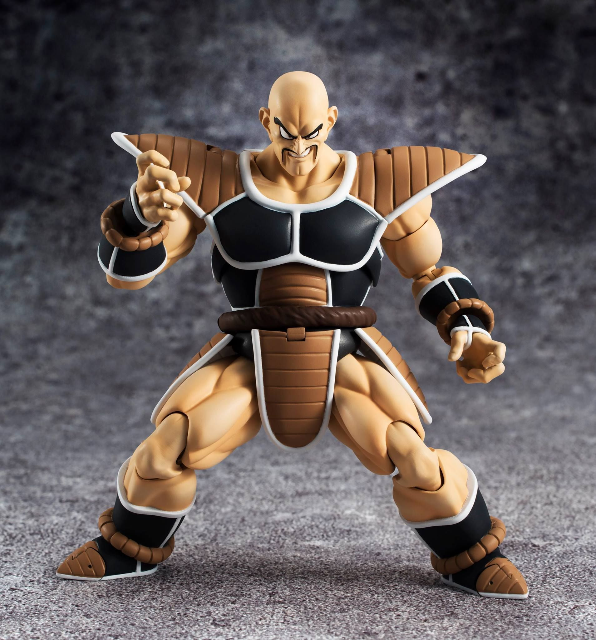 "Figuarts Dragonball Z /""Nappa/"" Action Figure In STOCK Bandai Tamashii S.H"