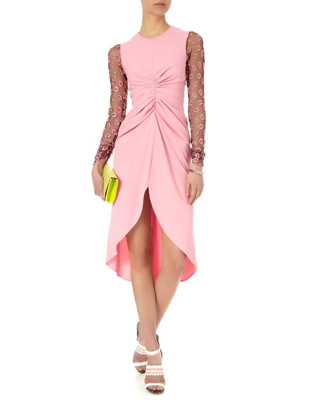 Pink Lip Sleeve Sable Dress | Giles brand. Jaglady | Dresses/skirts ...