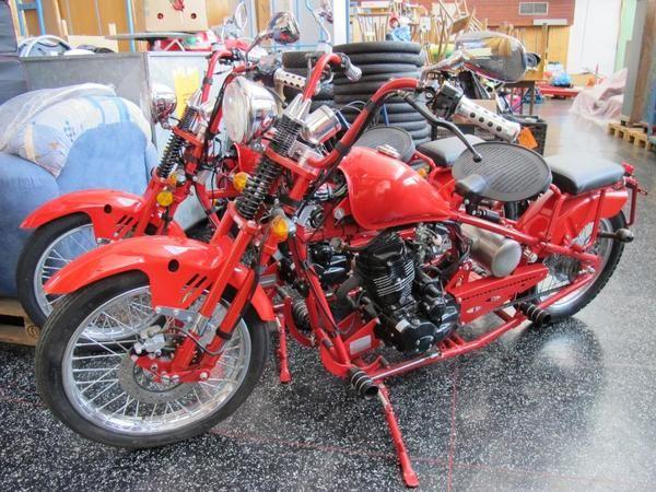 Bild 6 - Chopper - Motorrad 125 ccm Chopper Old School Style - küchenmöbel gebraucht kaufen