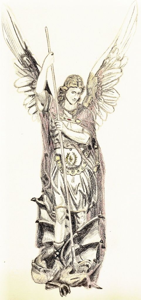 St. Michael the Archangel by ~FanKing on deviantART  angel  archangel 02ef21beab5f5