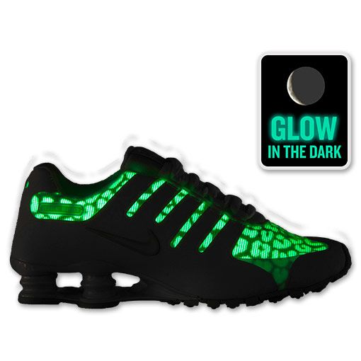 detailed pictures b37e5 37be0 Love me some Nike shox. Holy fadoodle-cakes!!! THEY GLOWWW!! And they re at  finish line.