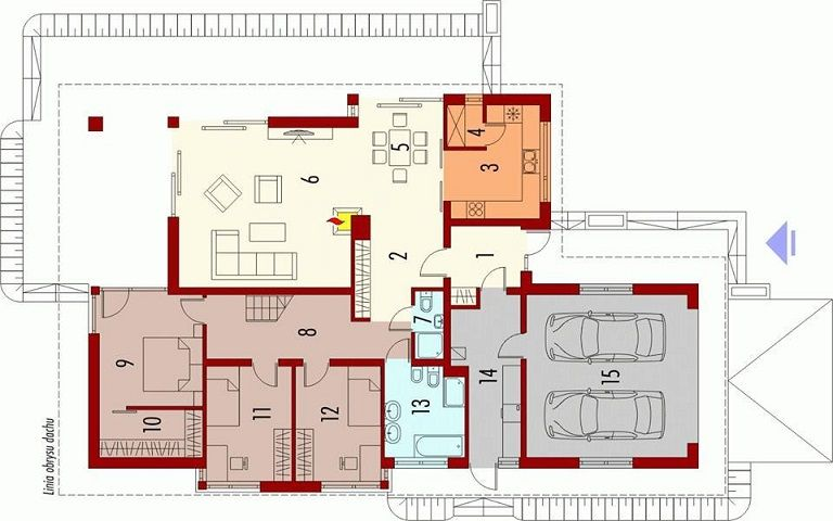 Single Story Home Map Id93 - Home Plan For Single Story