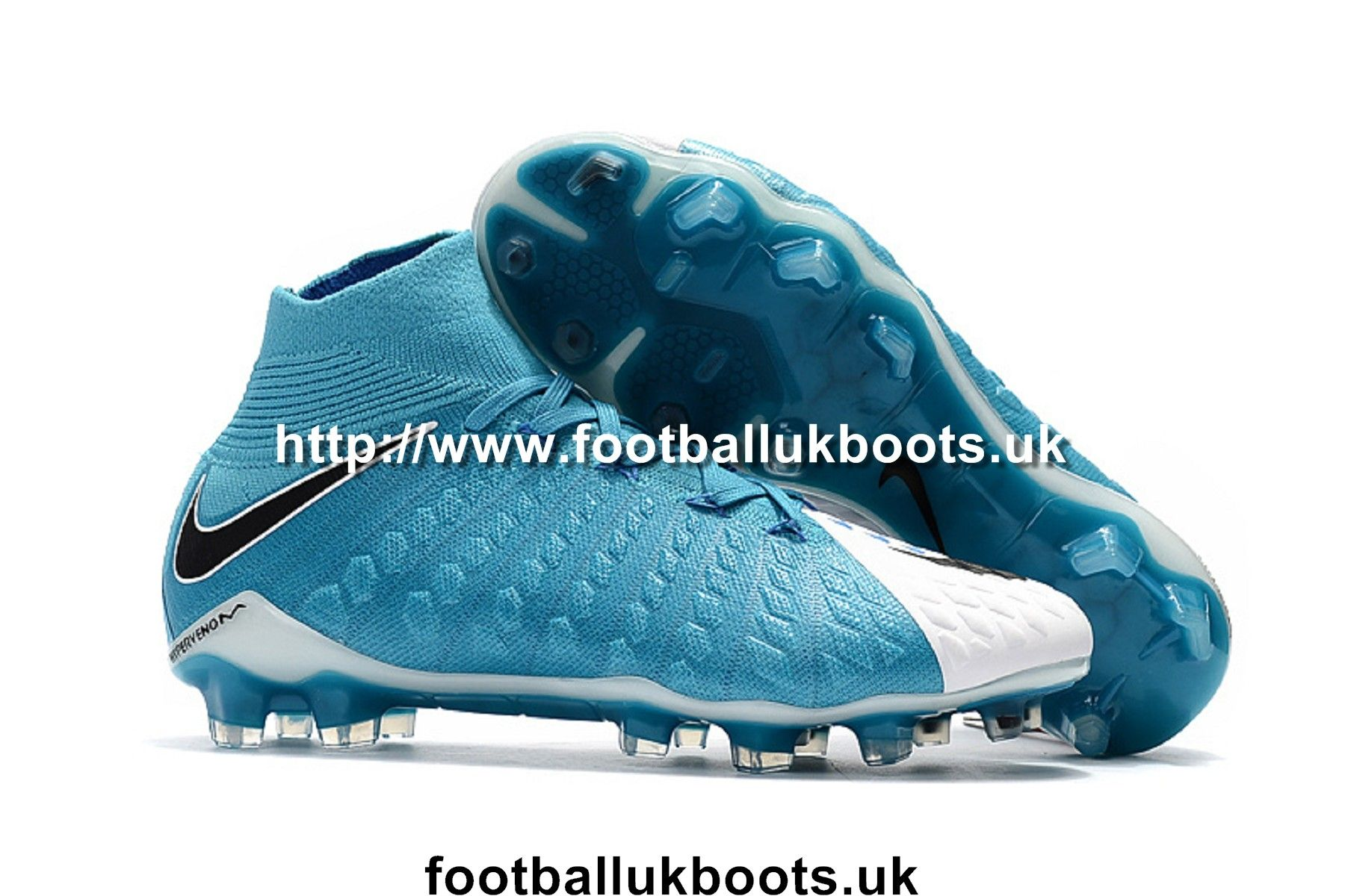 Cheap Nike Hypervenom Phantom III 3 DF FG Football Boots - White/Black/Photo