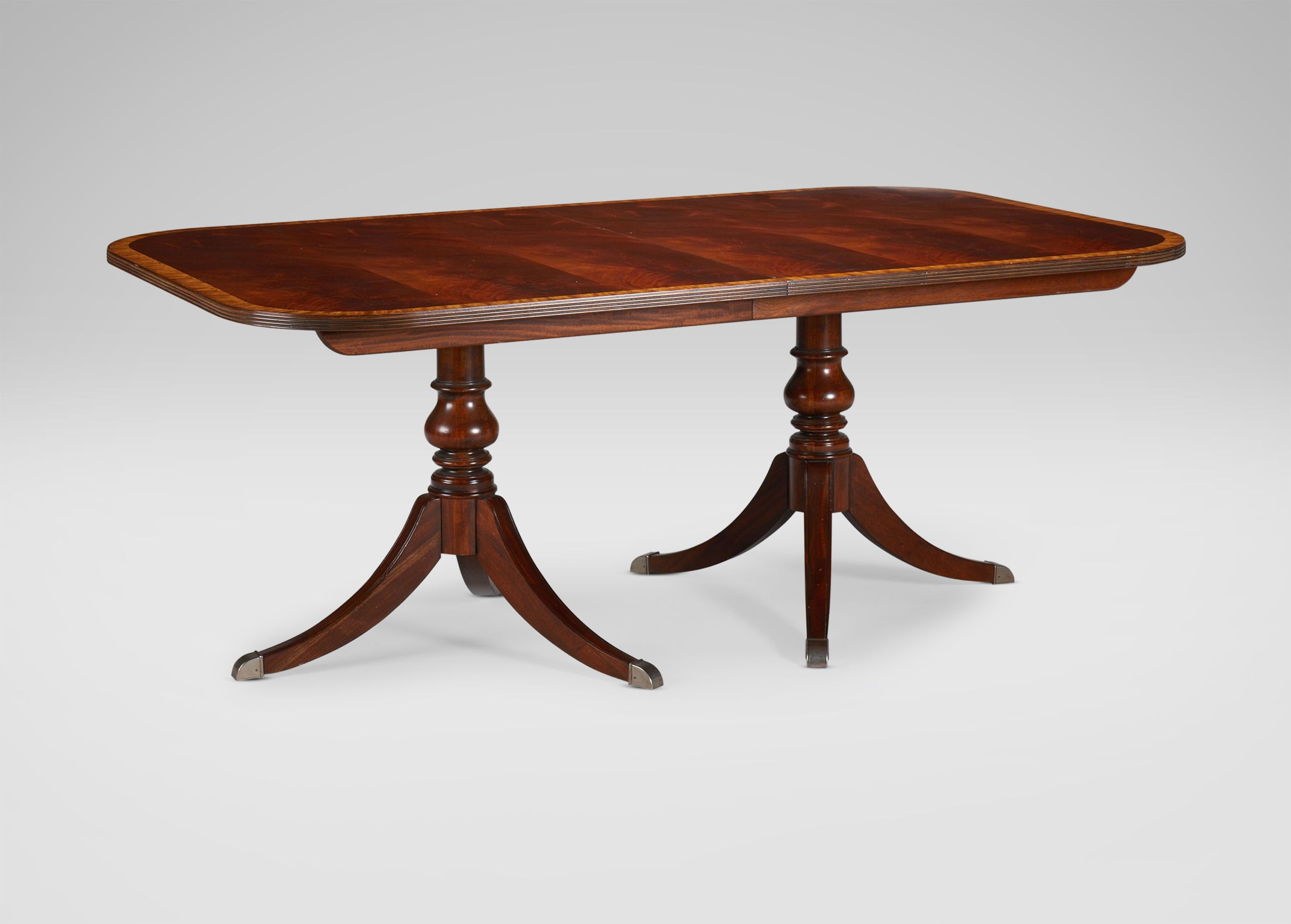 Abbott dining table ethan allen dining options by for Ethan allen dining room tables