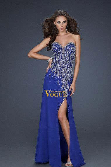 2012 collection sweetheart sheath/column prom dresses