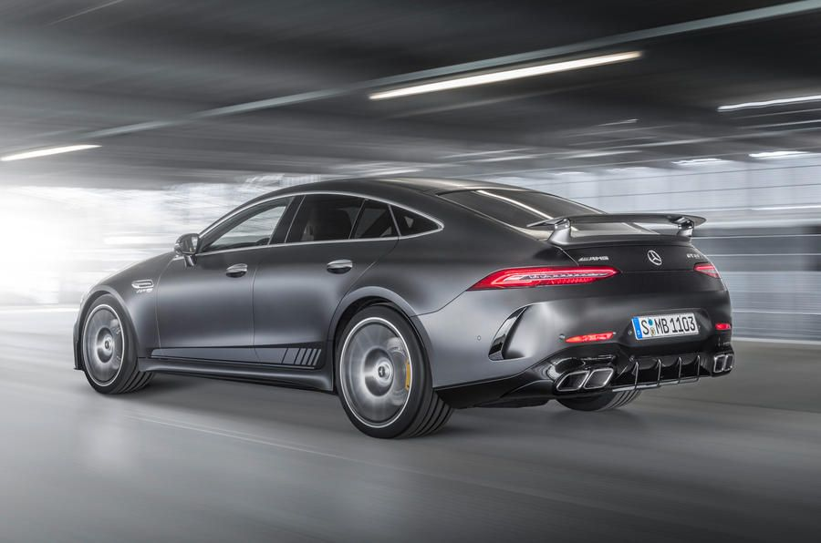 Mercedes Amg Gt 4 Door Coupe Priced From 121 350