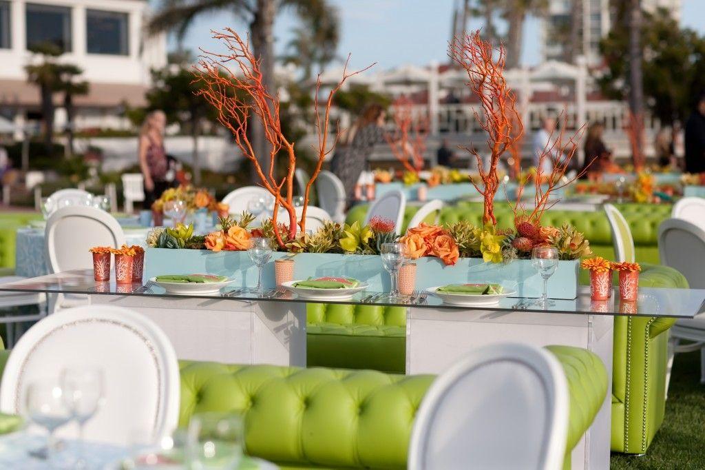 Grace Ormonde Wedding Receptions | Weekend Destination Wedding at Hotel Del Coronado