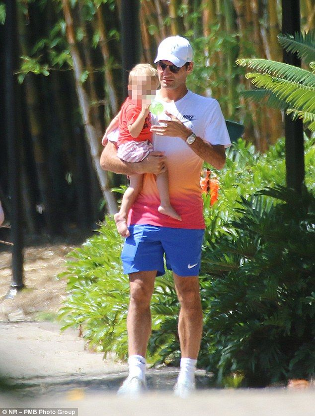 Federer Daughters 2016