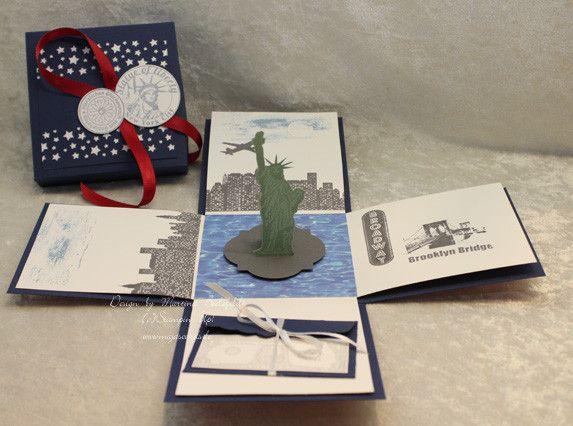 Geldgeschenke Magic Box Reise Amerika Usa Ein Designerstuck Von