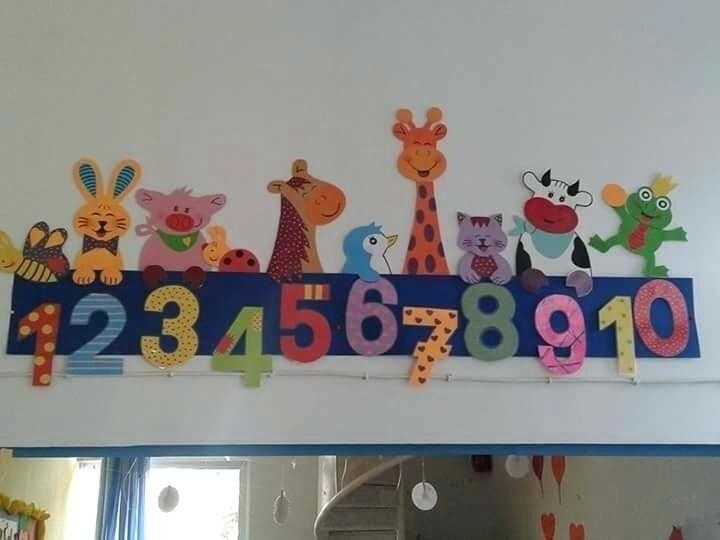 Preschool Decorating Ideas Great Preschool Wall Decoration