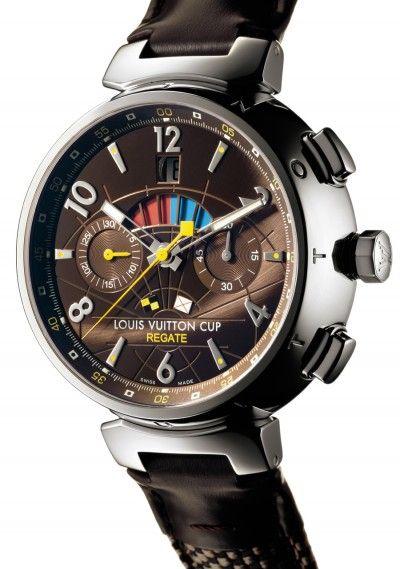 b4a9bdbd84a Tambour Regatta LV Cup Automatic   Louis Vuitton Amazing Watches