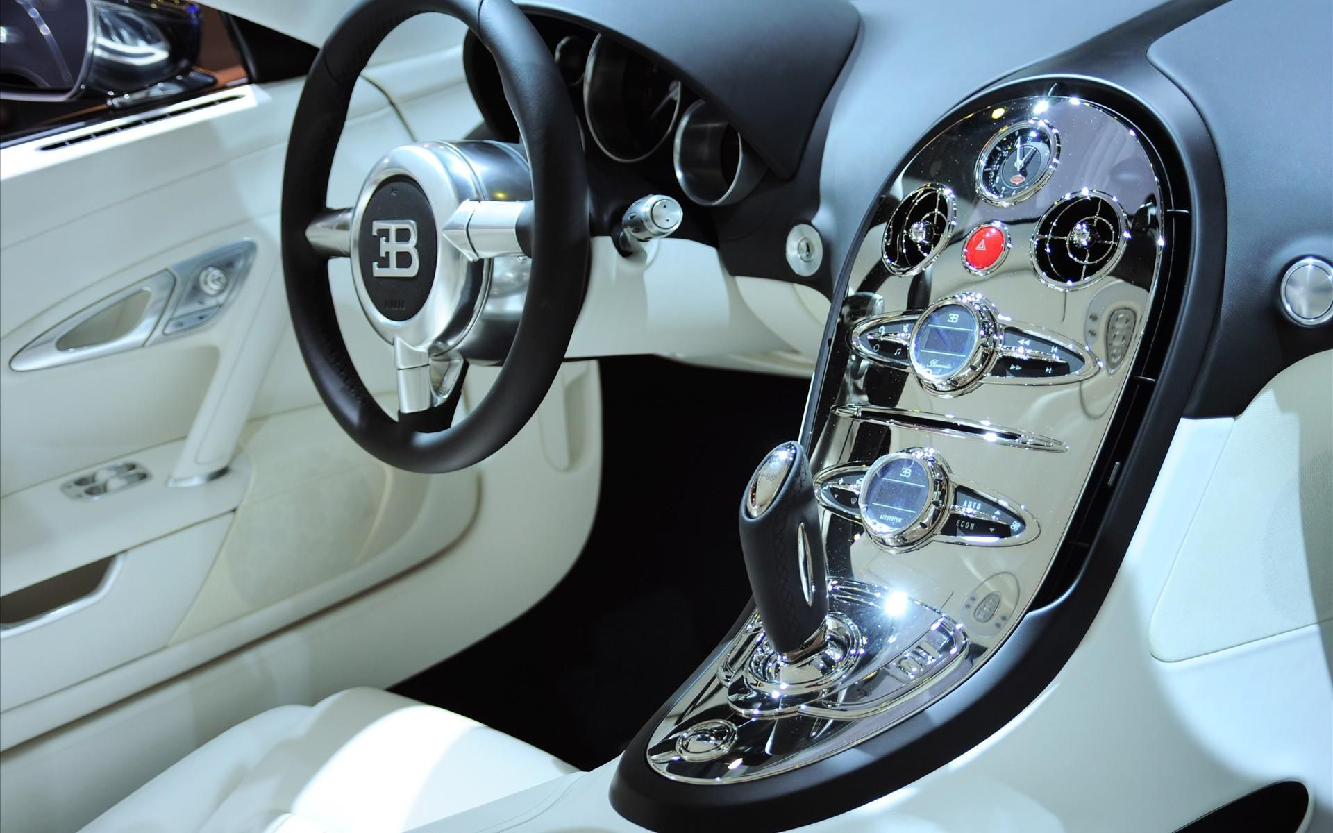 Bugatty Veyron Bugatti Veyron Bugatti Veyron Interior Veyron