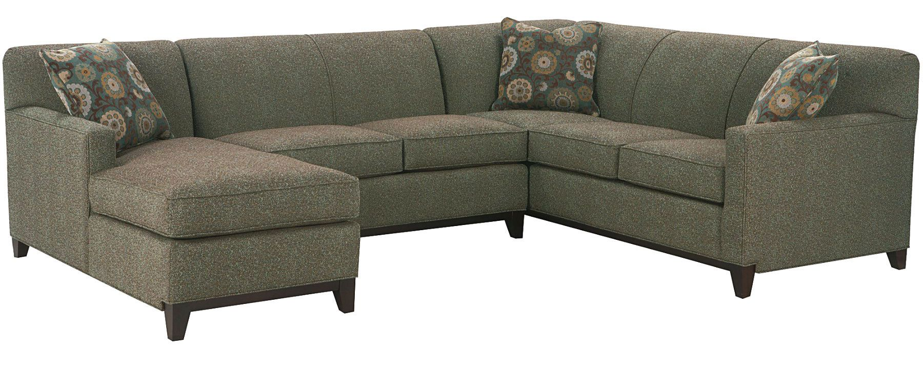 Tight back sectional sofa w track arm choose your upholstery club furniture