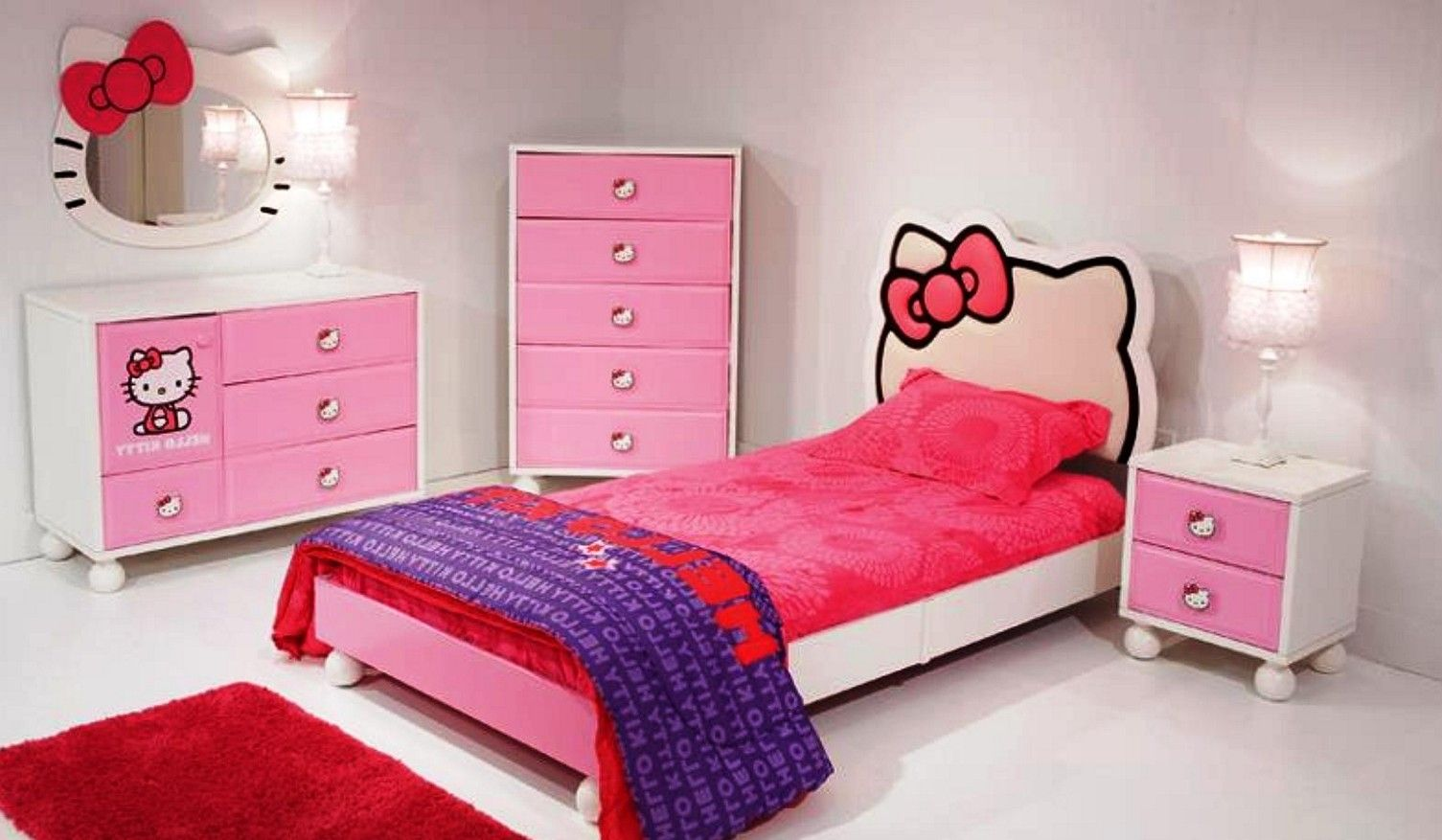20 Hello Kitty Bedroom Decor Ideas To Make Your Bedroom More Cute Awesome Hello Kitty Bedroom Designs Review