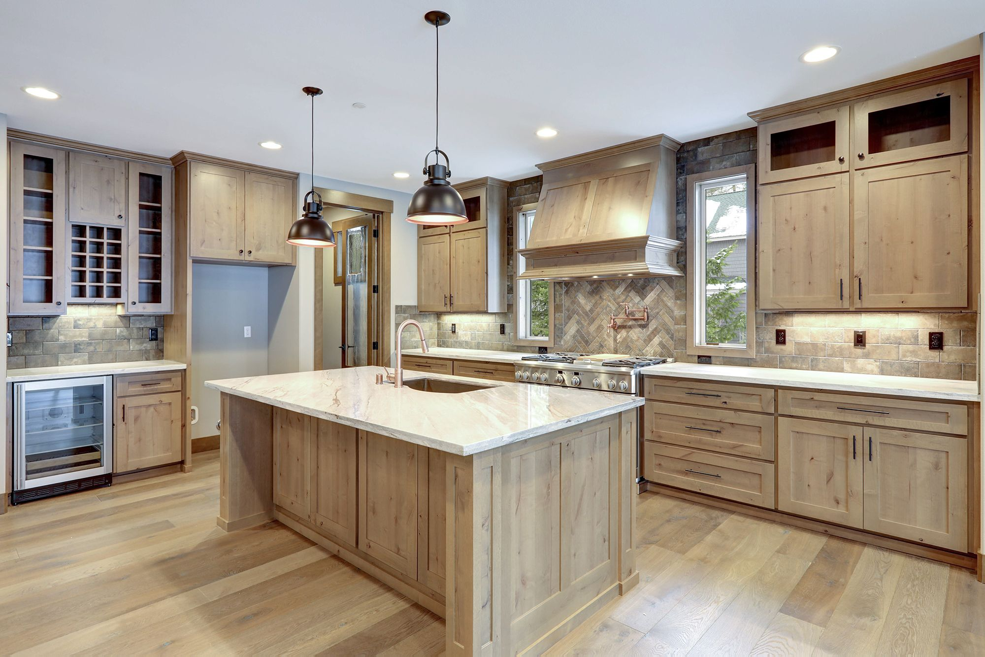 Pin By Great Nw Homes On Kitchens By Gnw Knotty Alder Cabinets Alder Cabinets Diy Kitchen Cabinets Painting