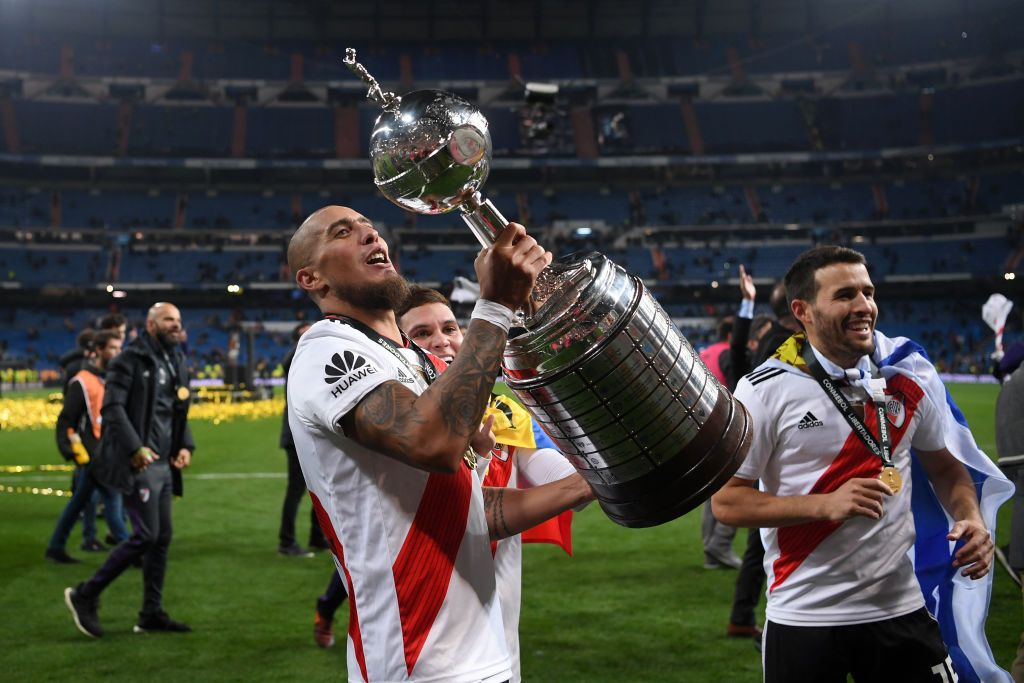 Madrid Spain December 09 Jonathan Maidana Of River Plate