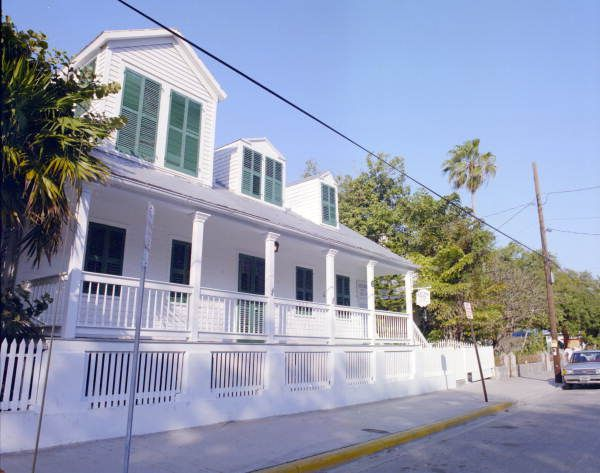 Florida Memory The Oldest House In Key West Fl Historical Architecture Key West Old Things